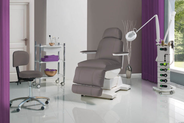 beauty room furniture. Gharieni Treatment Bed SPL Soft Beauty Room Furniture