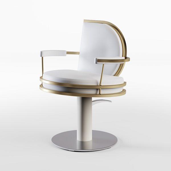 Gharieni hair salon furniture in partnership with Cindarella